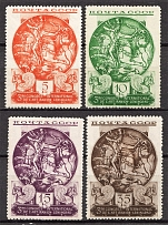 1935 USSR The Third International Congress of Persian Art (Full Set, MNH/MH)