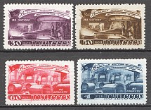 1948, USSR, Five-Year Plan in Four Years, Metal (Full Set, MNH)