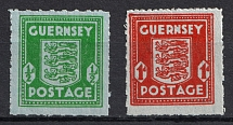 1942 Germany Occupation of Guernsey (Full Set, CV $80, MLH/MNH)