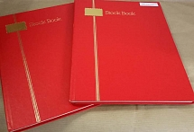 Accessories Two 16-side white page stock books vgc