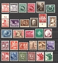 Germany Third Reich Bohemia and Moravia City Post Collection (3 Scans, MNH/MH)