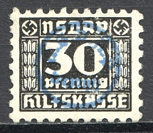 Cinderella `NSDAP` Auxiliary Fund 30 Pf (Cancelled)