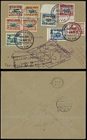 Bolivia May 14-June 6 1930, Zeppelin Return 1st SAF cover from La Paz to Germany