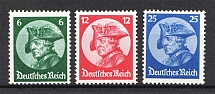 1933 Third Reich, Germany (Mi. 479-481, Full Set, CV $430, MNH)