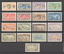 1909-17 St. Pierre & Miquelon French Colony (CV $40, Full Set)