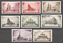 1937 USSR The First Coungress of Soviet Architects (Full Set)