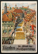 1936 Reich party rally of the NSDAP in Nuremberg, Procession through the city streets
