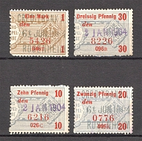 Germany Revenue Stamps (Canceled)