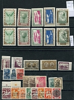 8 wings with stamps of the Baltics (with occupations). MNH / Mint Hinged / used