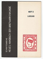 Literature Die Briefmarken von Labuan by RUDOLPHI, 37pp illus - more detail than