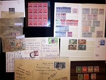 1908-55 NEAR EAST AND MIDDLE EAST: Lot 22 covers and some loose stamps with stre