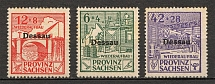 1946 Dessau Germany Local Post (Full Set, MNH)