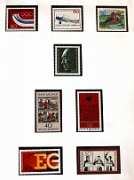 1976-80 Germany Federal Republic Collection (22 Scans, Full Sets, MNH)