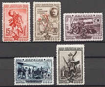 1940 USSR The 20th Anniversary of Fall of Perekop (Perf, Full Set)