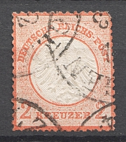 1872 Germany 2 Kr (CV $480, Cancelled)