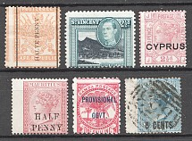 British Colonies Shifted Perforation (MH/Cancelled)