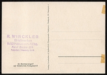 1943 Wehrmacht Souvenir Postcard Bombing attack against enemy warships