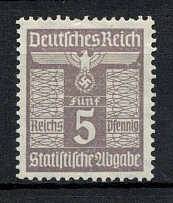 5pf Statistical Tax, Germany (MNH)