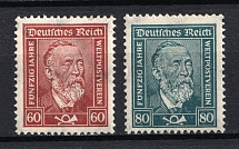 1924-28 Third Reich, Germany (Full Set, CV $120, MNH)