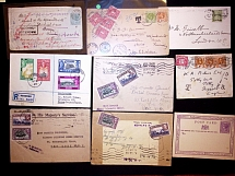 1880-1948 Selection of 15 covers and cards with mostly QV and KGV issues, also g