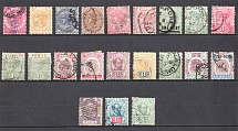 Malaysia, British Colonies (Group of Stamps, Canceled)