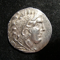 Greek Thrace Odessos AR Tetradrachm ancient coin after Alexander III; P-1197; EF