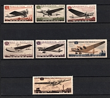 1937 Aviation of the USSR, Soviet Union USSR (Full Set, MLH/MNH)