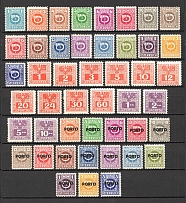 1945-46 Austria Postage Due Stamps Collection  (Full Sets, MNH)