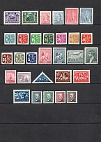 1945-46 Czechoslovakia Collection (Full Sets, 2 Scans, CV $20, MNH)