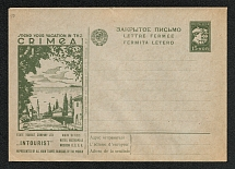 1929-32 Advertising and Campaigning USSR Standard Postal Stationery cover (7)