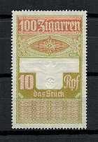 1944 10Rpf Cigar Tobacco Tax, Germany (MNH)