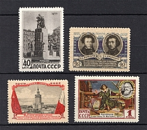 1955 Anniversary of the USSR-Polish Tready of Friendship, Soviet Union USSR (Full Set, MNH/MLH)