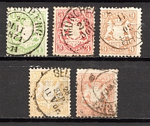1870-73 Bavaria Germany (Cancelled)