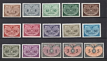 1940 General Government, Germany Official Stamps (Full Set, CV $80, MNH)