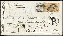 1880-1958 Attractive selection of 339 covers and cards showing a wide range of f