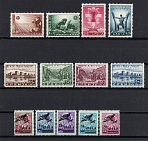 1941-42 Occupation of Serbia, Germany (Full Sets, CV $25, MNH)