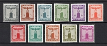 1942 Third Reich, Germany Official Stamps (Full Set, CV $65, MNH)