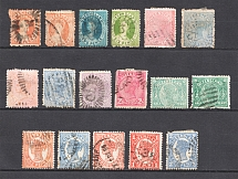 Queensland, British Colonies (Group of Stamps, Canceled)