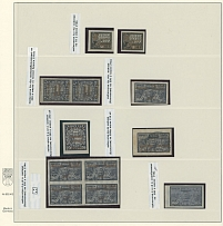 'Philately for the Labor'' Issue, COLLECTION: 1923, 11 mint or used stamps,