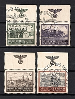 1943-44 General Government, Germany (Eagle on the Field, Full Set, Canceled)