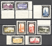 1920 Germany Lost Territories Propaganda Stamps (MNH)