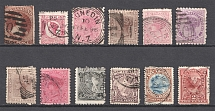 New Zealand, British Colonies (Group of Stamps, Canceled)