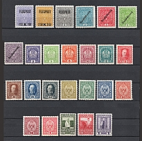 1908-19 Austria Collection (CV $60, Full Sets)