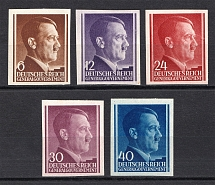 1941 General Government, Germany (Imperforated, MNH)