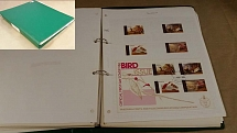Collections/Mixed Lots Album Birds thematics: S-T countries m&u incl St Kitts 19