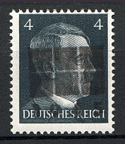 1945 Netzschkau-Reichenbach Germany Local Post 4 Pf (CV $100, Type IIc, MNH)