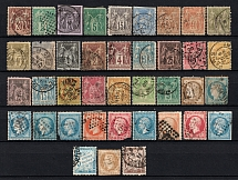 1862-92 France (Group of Stamps, Canceled)