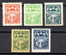 1929-32 Latvia (CV $40, Full Set)