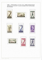1941-51 BRITISH OCCUPATIONS OF ITALIAN COLONIES: Mint and used collection on 17