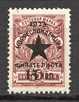 1923 Russia Philatelist Correspondence For Hunger Starved (CV $1100, MNH)